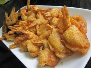 Deep Fried Prawn Puffs