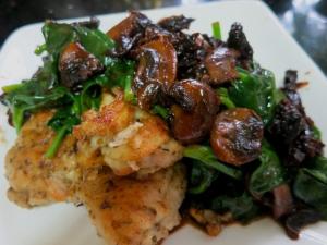 Marsala Chicken Florentine